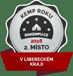 Kemp roku - 2. místo v Libereckém kraji